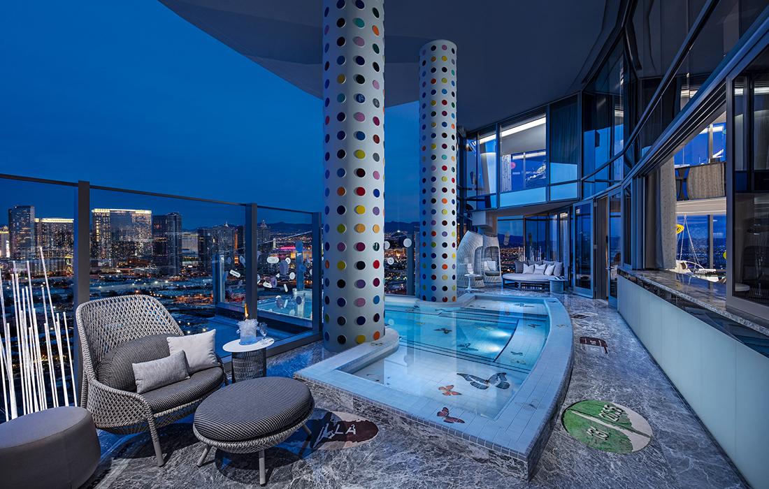 La chambre d'hôtel la plus onéreuse du monde, signée par Damien Hirst
