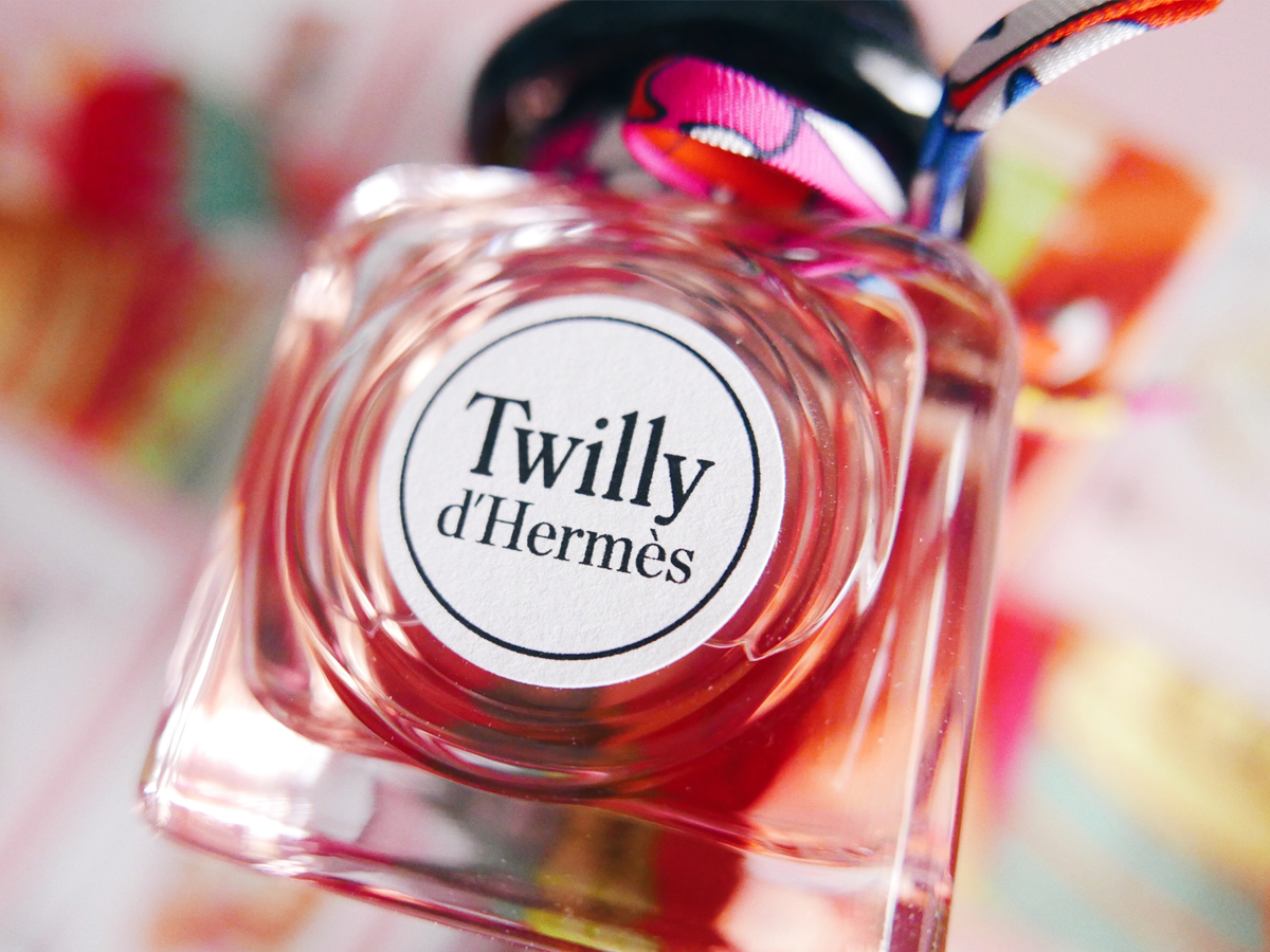 Hermes nouvelle collection cosmetique parfums twilly