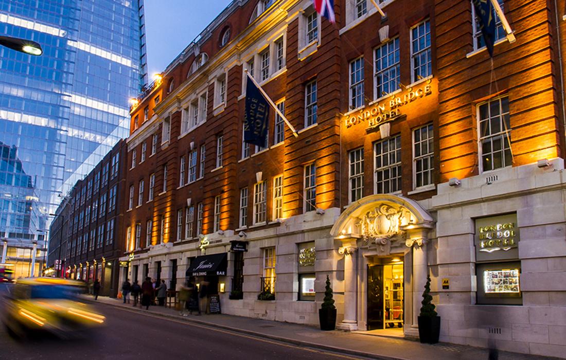 London Bridge Hotel, une adresse qui regorge d'histoire