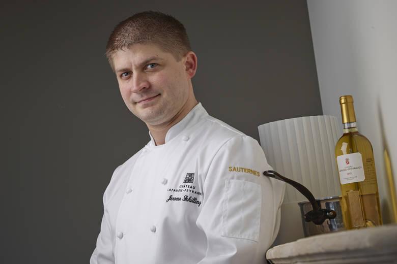 Dans la cuisine du chef Jérôme Schilling