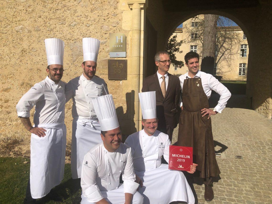 Dans la cuisine du chef Jérôme Schilling et son équipe