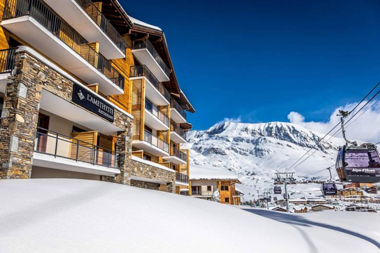 exterieur station de ski hotel DAria