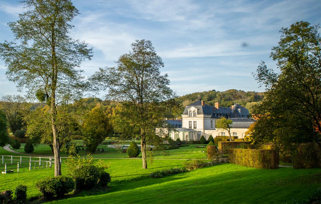 Jardin Château de Courcelles