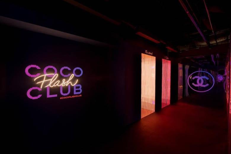 La marque de luxe Chanel ouvre un nouveau pop-up : le Coco Flash Club