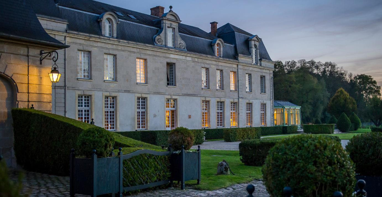 Soirée au château de Courcelles