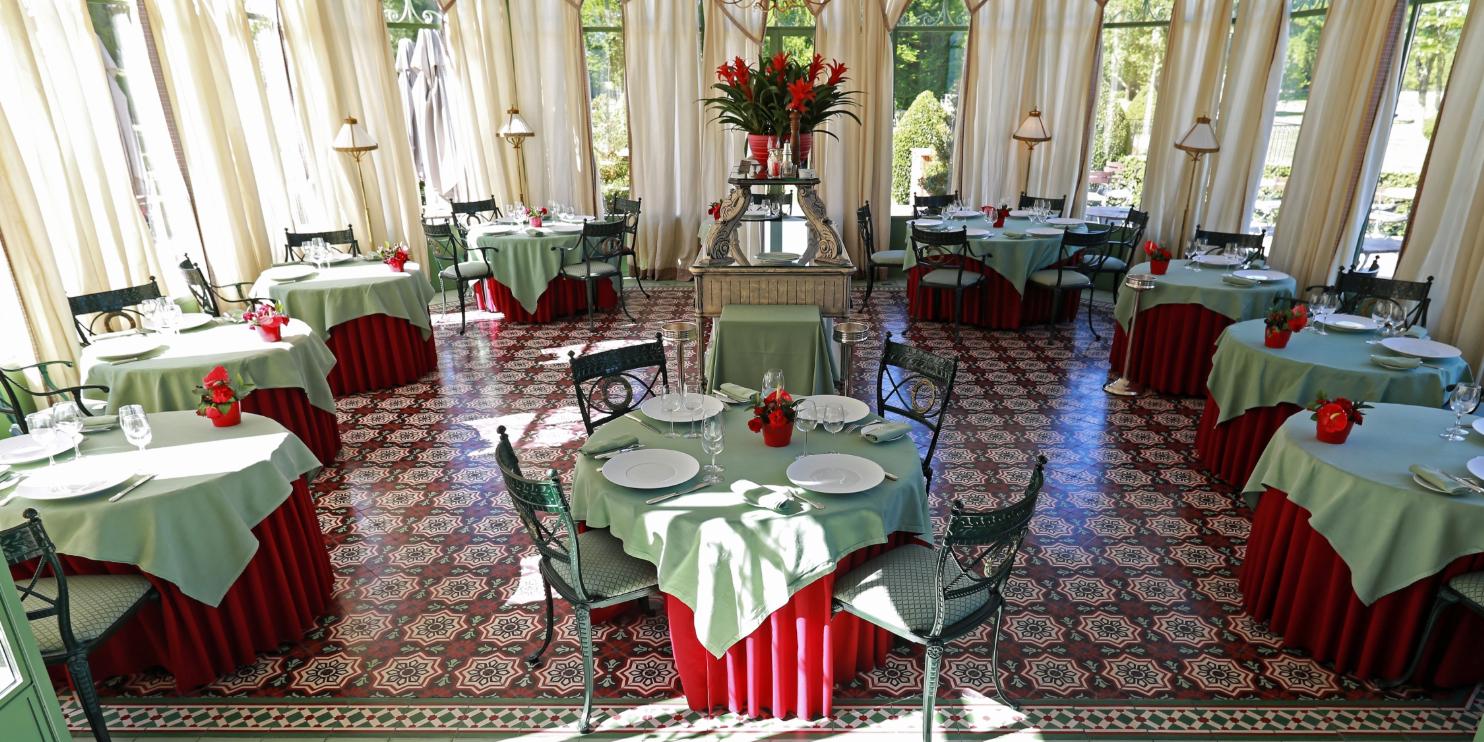 Restaurant Gastronomique Château de Courcelles