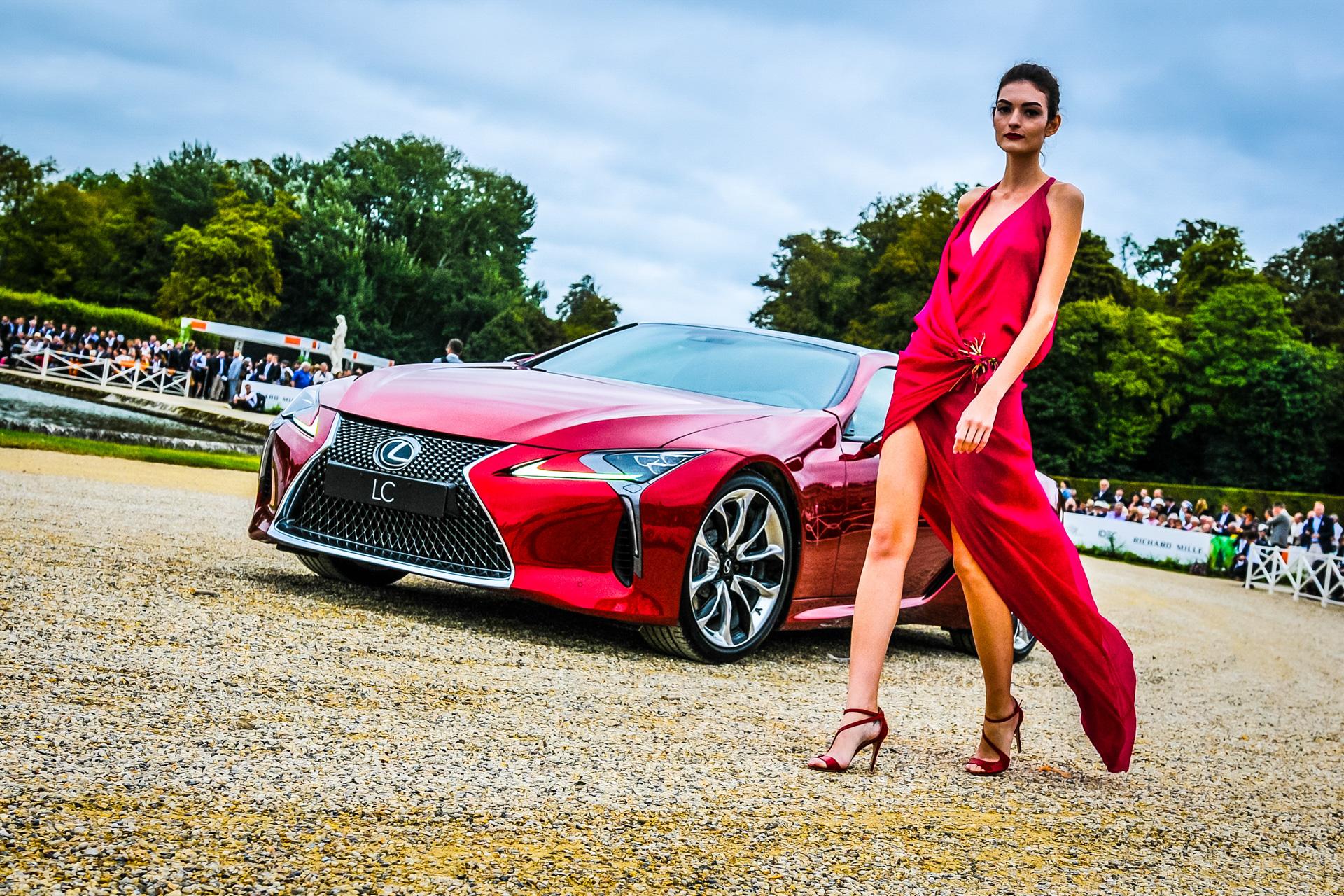 La marque Lexus, elle aussi partenaire chantilly