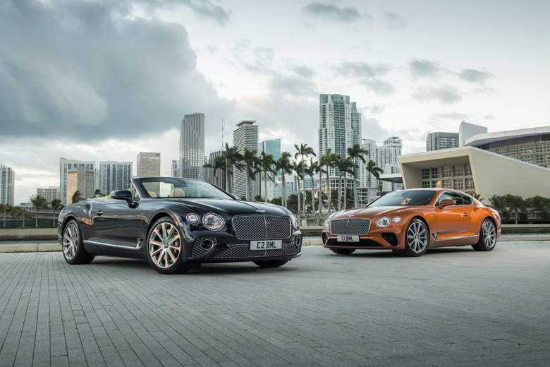La Nouvelle Bentley Continental V8 GT