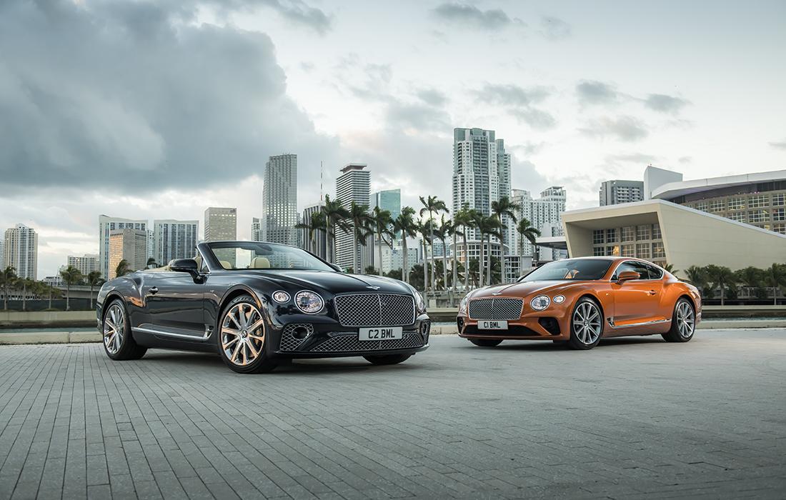 La Nouvelle Bentley Continental V8 GT Se Découvre Sous le soleil de Miami