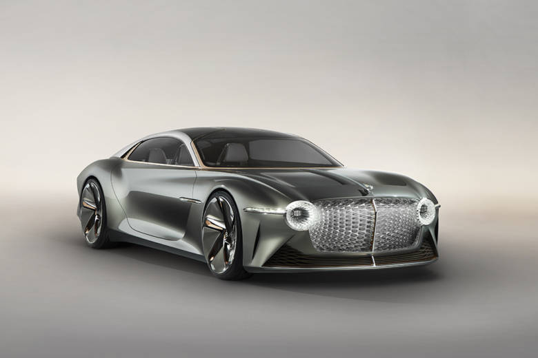 La Bentley EXP 100 GT