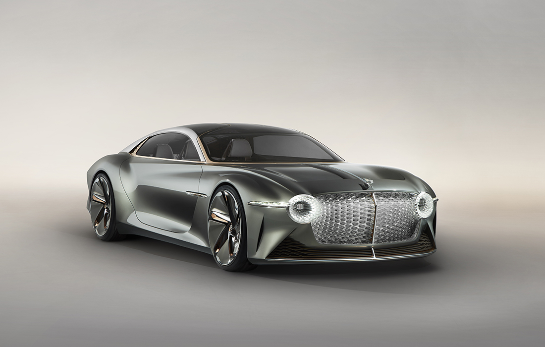 Epoustouflante Bentley EXP 100 GT