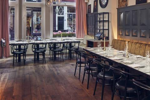 Le restaurant Jansz ouvre ses portes au cœur d'Amsterdam