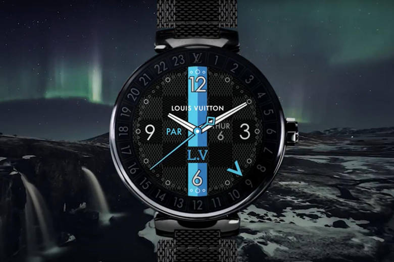 Louis Vuitton revisite sa montre connectée Tambour Horizon