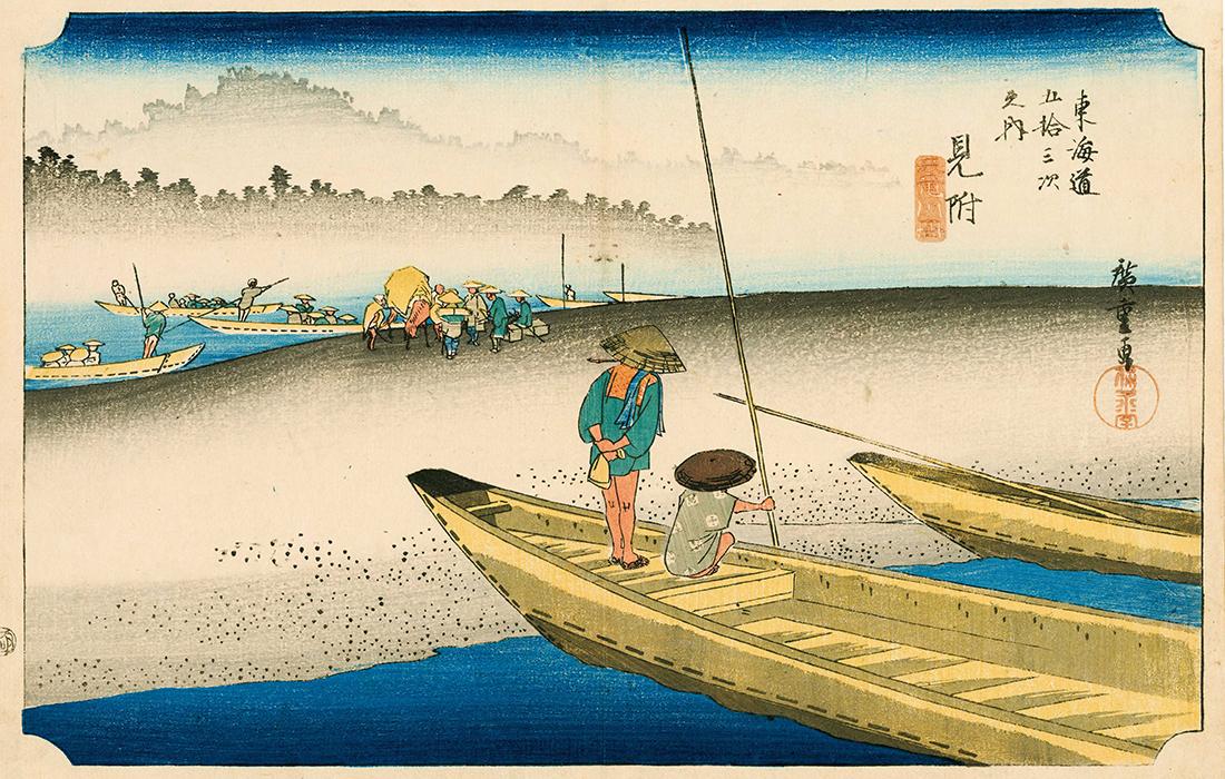 Invitation au voyage au Musée Guimet : Exposition «Sur la route du Tokaido»