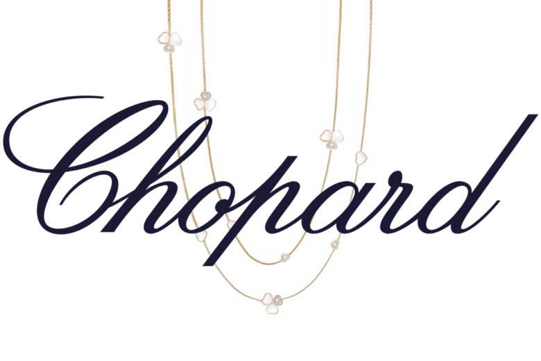 chopard logo collier heart