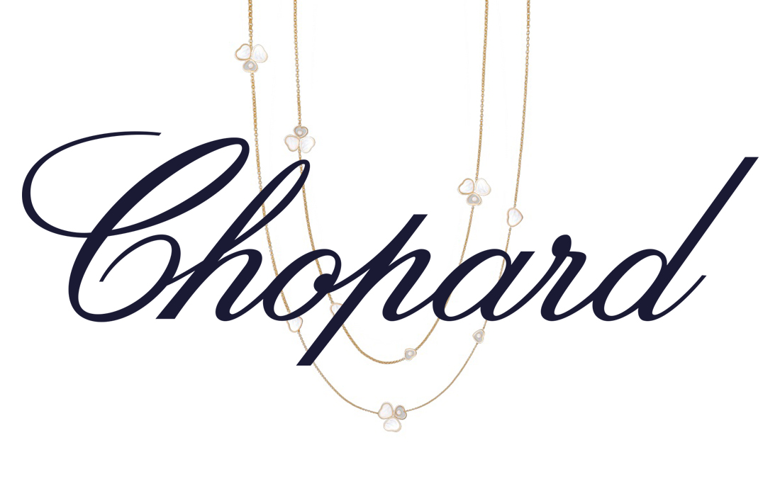 chopard logo collier heart