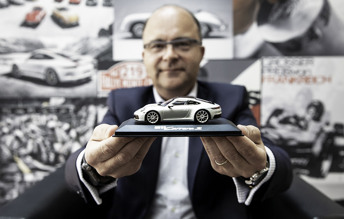 Marc Meurer, président de Porsche France