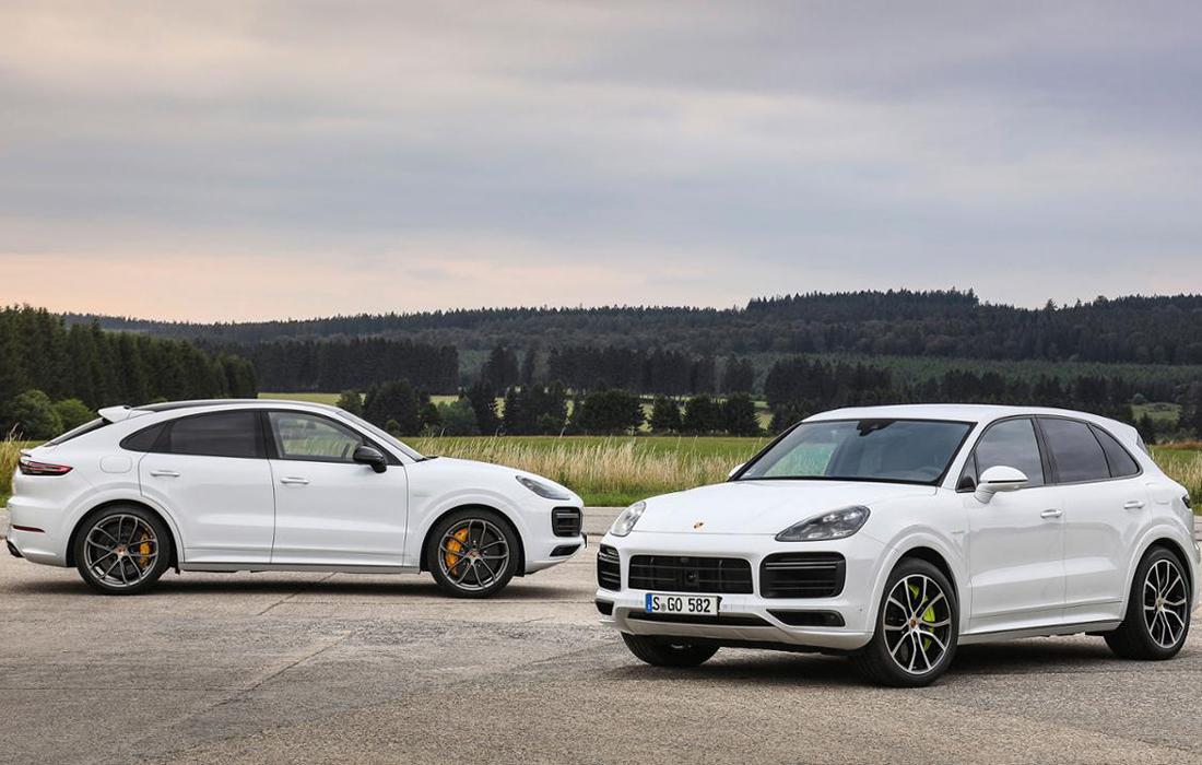 Les nouvelles Porsche Cayenne – deux modèles électriques rechargeables qui décoiffent !