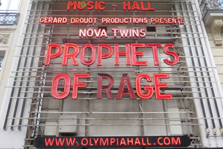 PROPHETS OF RAGE olympia paris