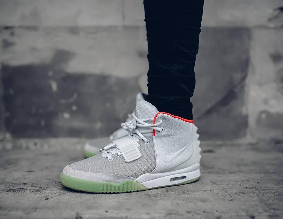 Adidas Air Yeezy 2 Pure Platinum