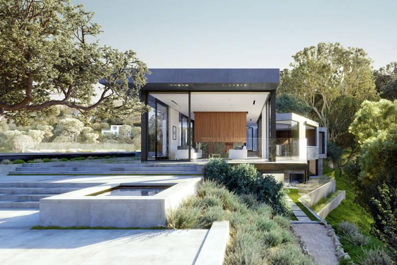 Le Oak Pass House : une maison surprenante mise en vente pour 32 millions de dollars en Californie