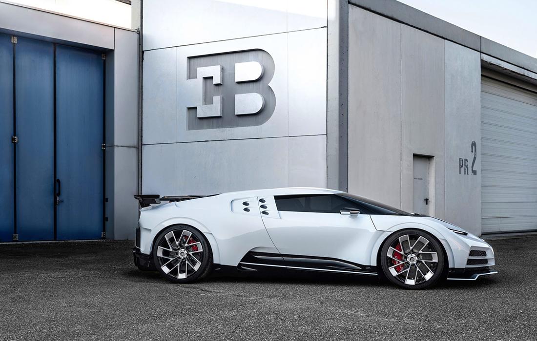 L'exceptionnelle Bugatti Centodieci
