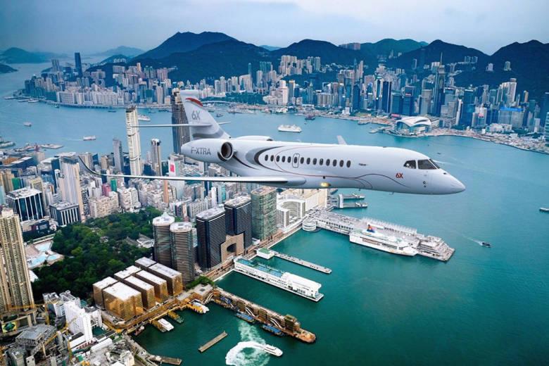 Dassault Aviation dévoile le Falcon 6X