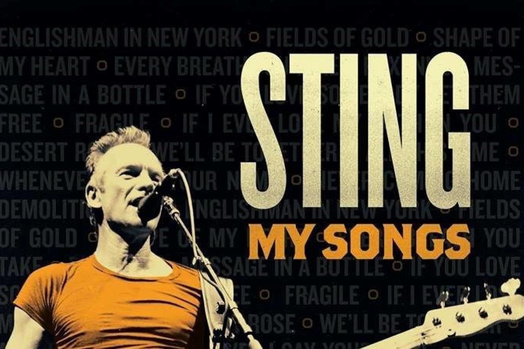 Sting affiche arena concert