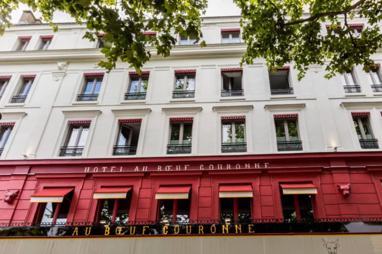 Hôtel Au Bœuf Couronné : une adresse pleine de charme en face de la Cité de la Musique