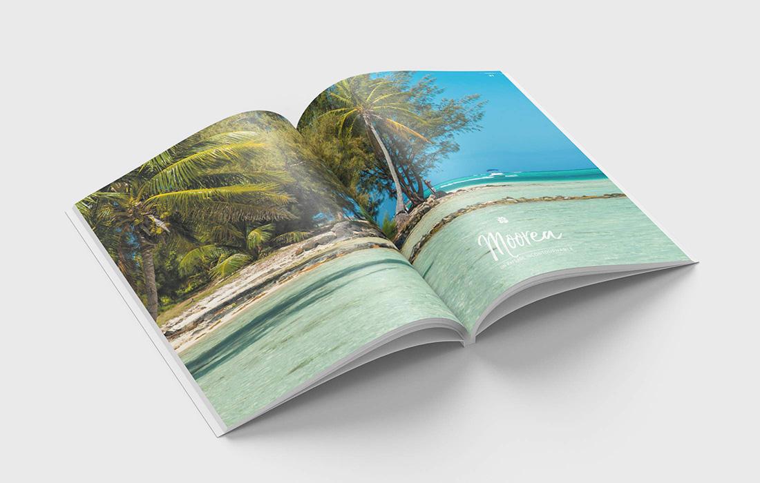 «Premier voyage en Polynésie»: un ouvrage de Sébastien Lallemand sur la beauté de lieux
