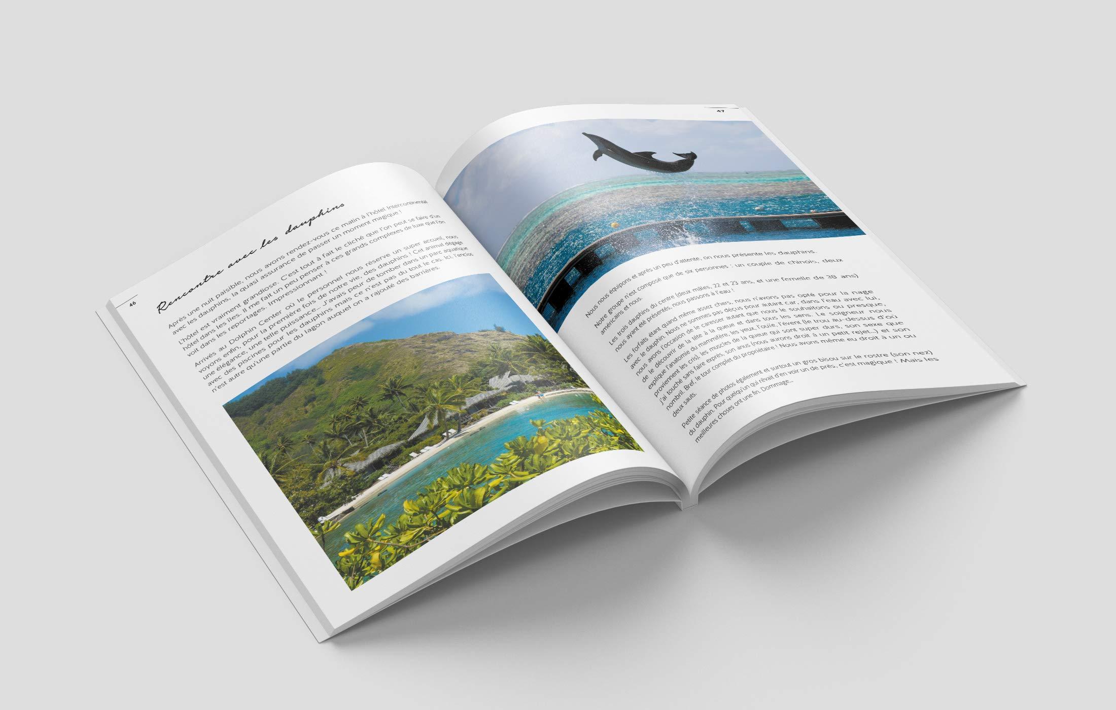 Voyage en Polynésie ouvrage