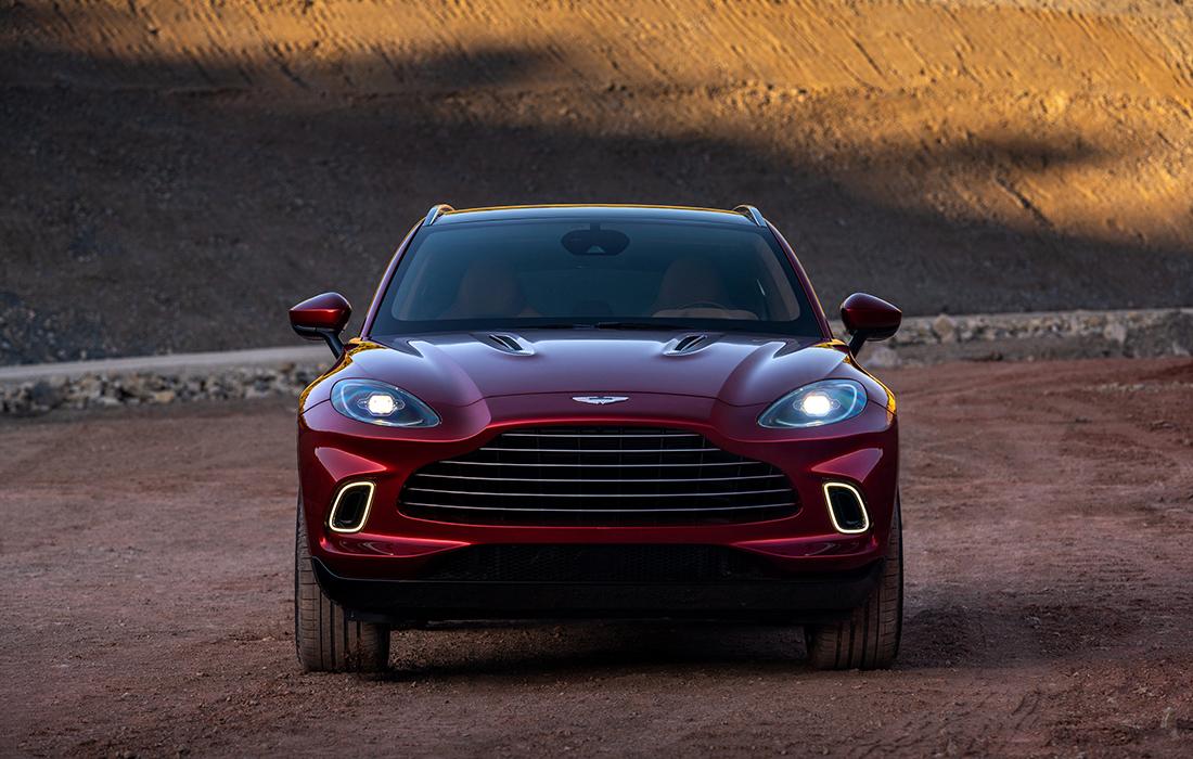 Aston Martin dévoile sa DBX : un SUV avec l'âme d'une voiture de sport