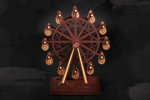 La grande roue de l'Avent : un concept original du calendrier de l'Avent par Patrick Agnellet