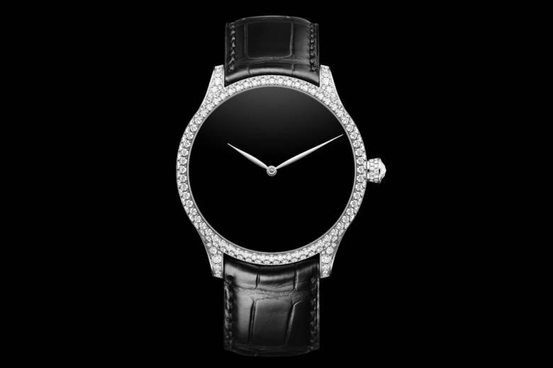 La Venturer Concept Vantablack Diamonds de H.Moser & Cie : un garde-temps élégant au style épuré