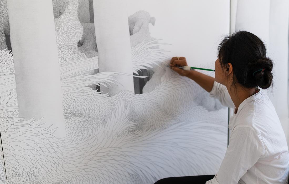 Carte blanche à Min Jung-Yeon au Musée national des arts asiatiques – Guimet
