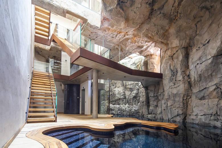 Villa Troglodyte Monaco : une demeure hors du commun bâtie dans la pierre