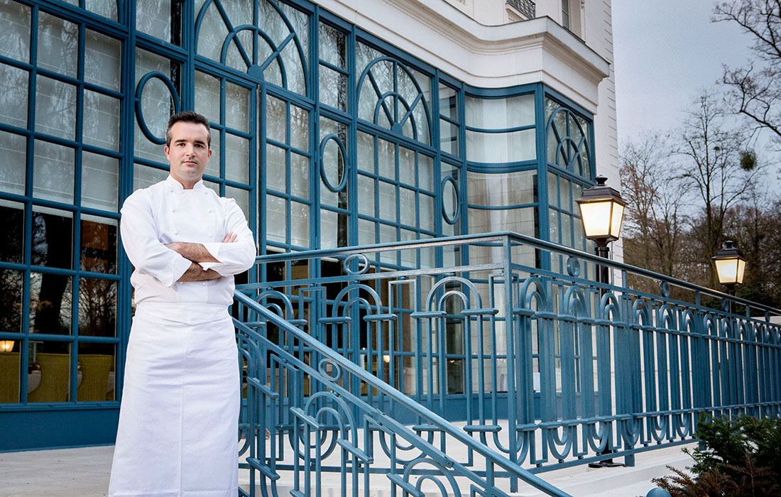 Chef Frédéric Larquemin: dans la cuisine d'un chef étoilé