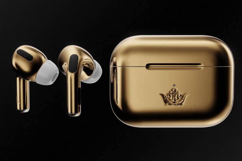 La griffe Caviar et la marque à la pomme s'associe pour dévoiler une Gold Edition des écouteurs Apple