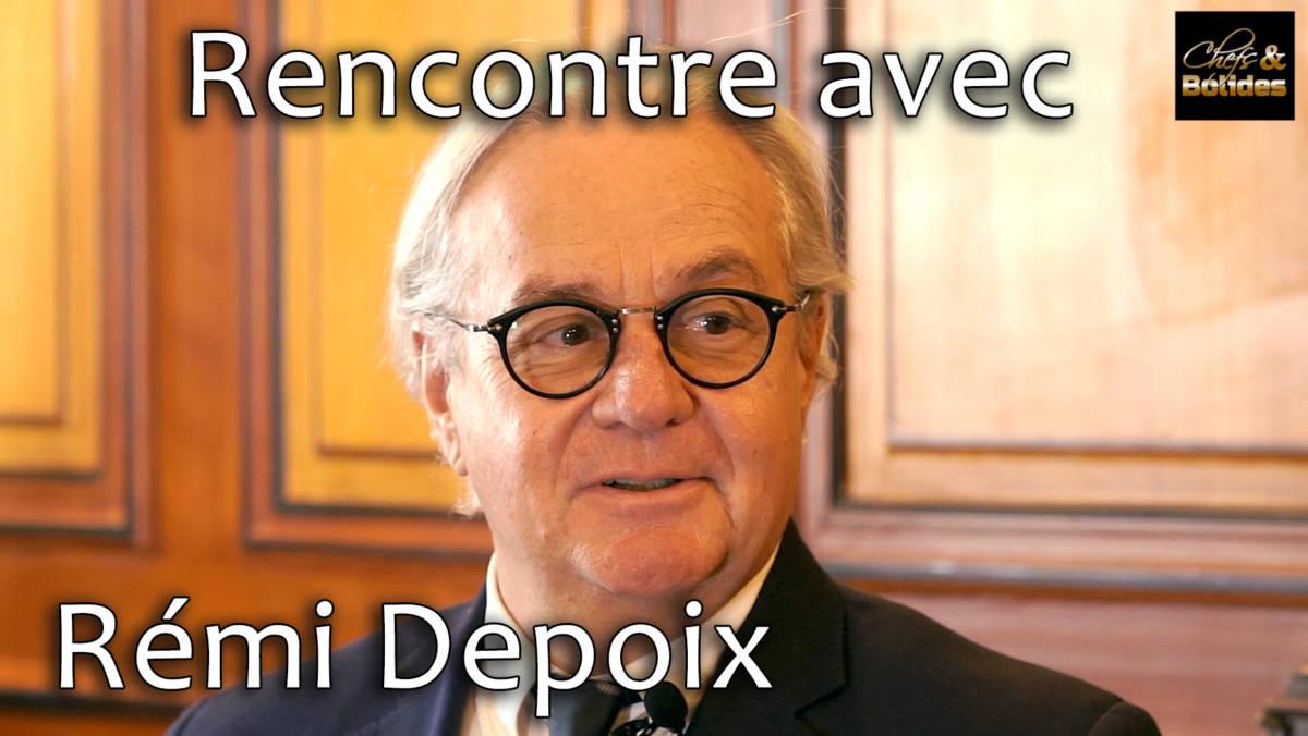 Rémi Depoix, rencontre avec le Fondateur et Président du Festival Automobile International
